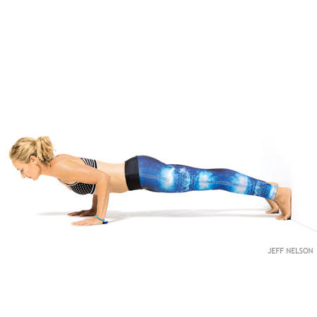 Correct Arm Position Chaturanga Dandasana
